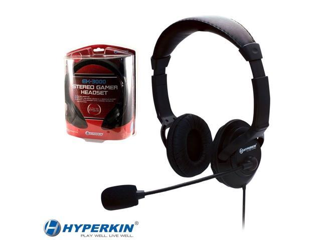 Hyperkin PS3 EK-3000 EK3000 Stereo Gamer Headset M05755