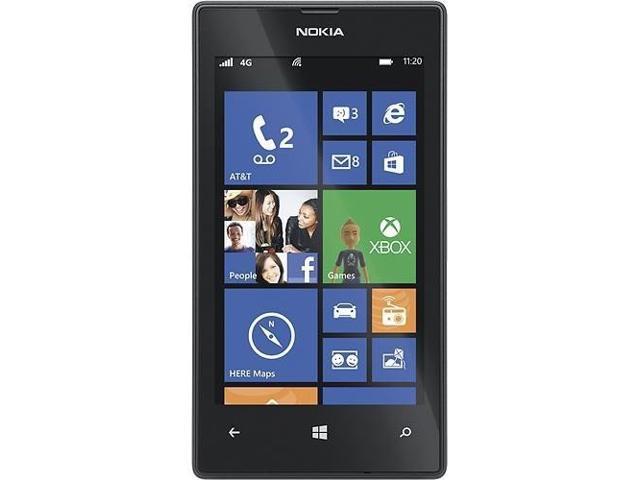 Nokia Lumia 520 - 8GB - Windows 8 Smartphone (AT&T) - Black
