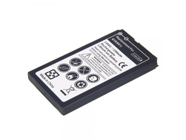 New 2300mA Rechargeable Lithium Battery for Blackberry Q10 ( NX1) Black