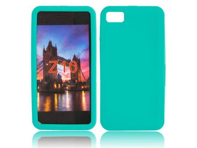 Silicone Case for Blackberry Z10 Green