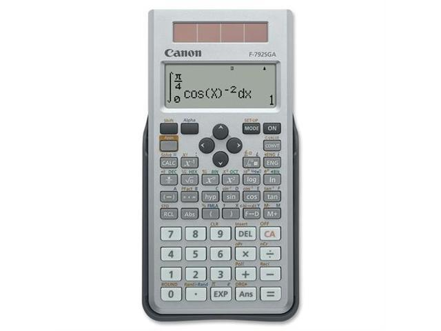 Canon F-792SGA Scientific Calculator - 648 Functions - 4 Line(s) - 18 Character(s) - LCD - Solar, Battery Powered - 0.7