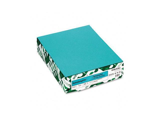 Neenah Paper Astrobrights Colored Paper, 24lb, 8-1/2 x 11, Terrestrial Teal, 500 Sheets/Ream