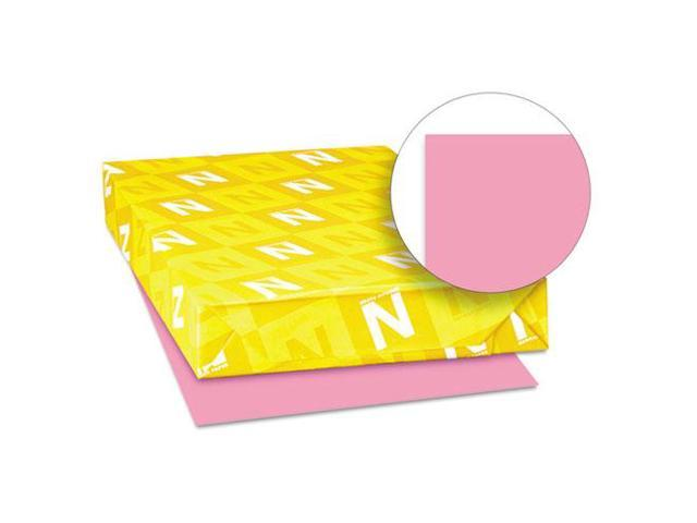 Neenah Paper Astrobrights Colored Paper, 24lb, 11 x 17, Pulsar Pink, 500 Sheets/Ream