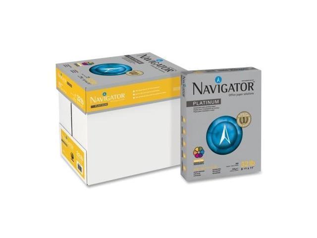 Navigator Platnium Office Multipurpose Paper - For Laser Print - Letter - 8.50