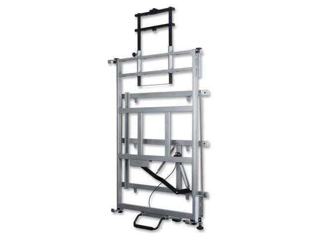 Balt Elevation Wall Mount for Whiteboard, Cart, Projector - 125 lb Load Capacity - Platinum