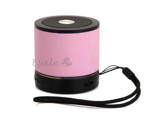 Mini USB Bluetooth Wireless Speaker Handsfree for Cell Mobile Phone Samsung Pink