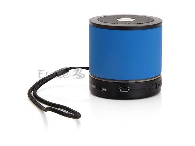 Mini USB Bluetooth Wireless Speaker Handsfree for Cell Mobile Phone Samsung Blue