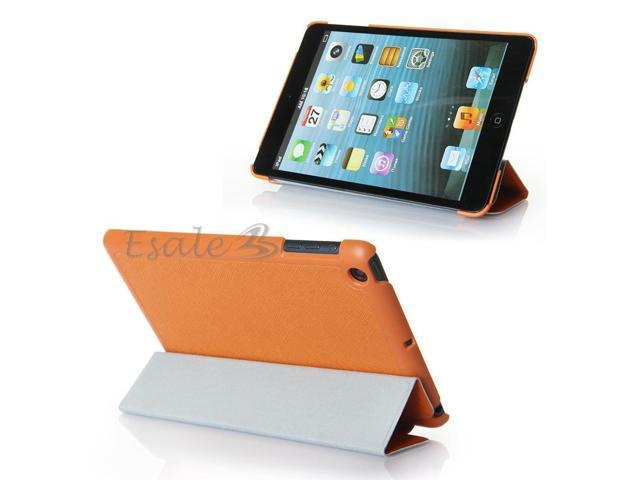PU Leather Stand Case Skin Protective Cover for iPad Mini