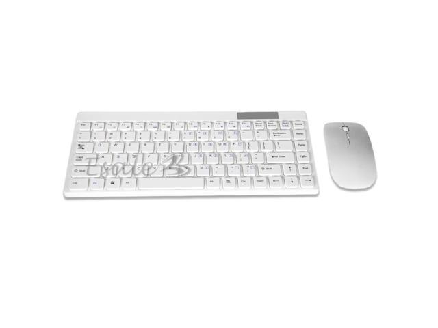 2.4G Wireless Keyboard and Mouse Set Optical Scroll Wheel Desktop for PC Laptop