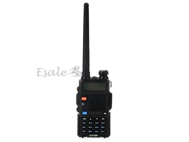 Walkie Talkie Dual Band Frequency UHF VHF FM Radio LCD Display
