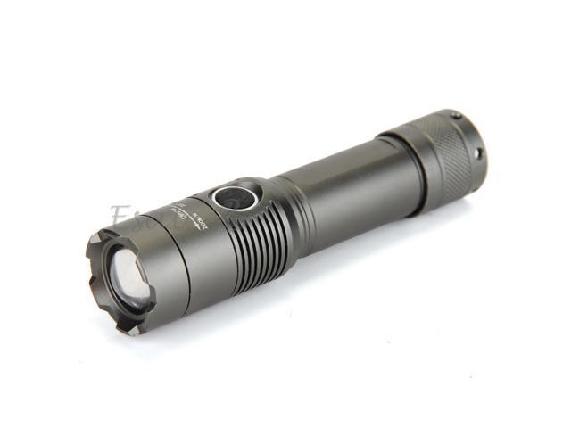 1600LM CREE T6 White LED Zoomable Rechargeable Flashlight Lamp Torch 3 Modes