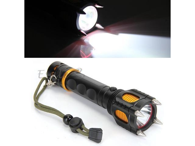 1600 Lumen CREE T6 White LED Rechargeable Flashlight Light 5 Modes Torch Hiking
