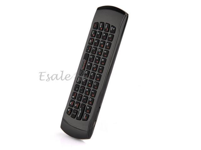 USB 2.4G Wireless Remote Control Fly Air Mouse Mini Keyboard for Android PC