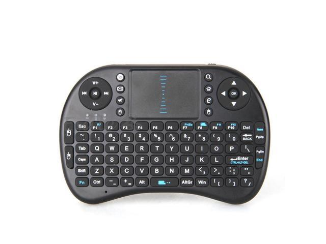 iPazzPort 2.4Ghz USB Wireless Mini Keyboard Touchpad for Android TV Box PS3