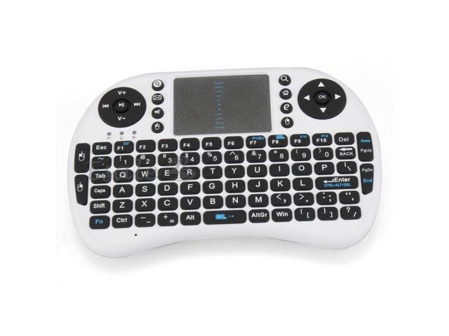 iPazzPort 2.4G USB QWERTY Wireless Mini Keyboard for Touchpad Android Box PS3