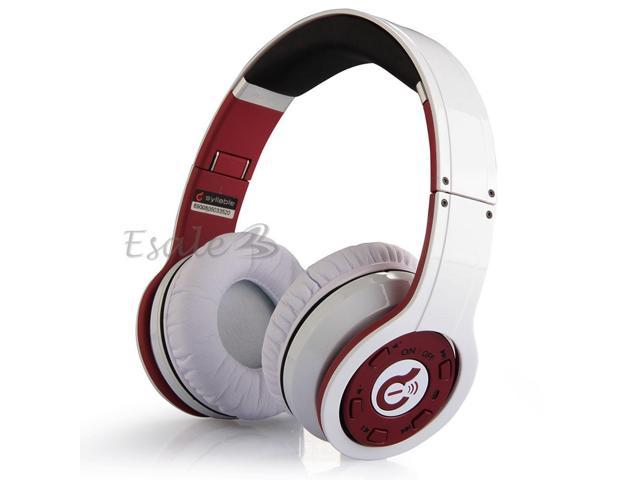 Syllable G08 Wireless Bluetooth Foldable Stereo Headset Earphone for PC White