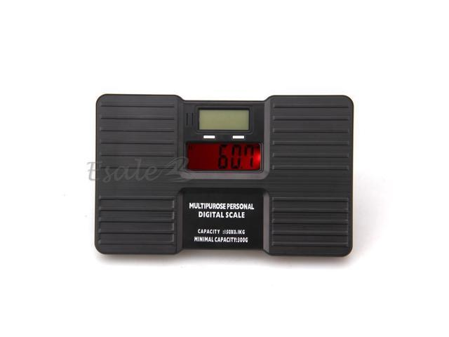 150kg/300g Portable Digital LCD Personal Body Weight Weighing Scale