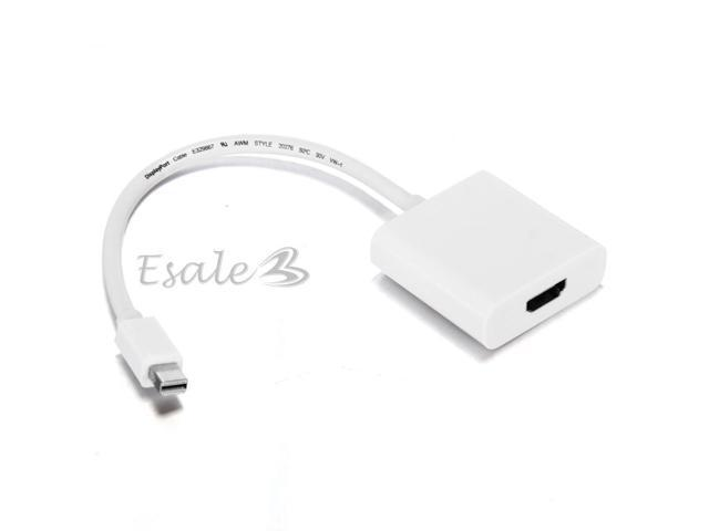 Mini DisplayPort Male to HDMI Female Converter Adapter for Apple MacBook Pro