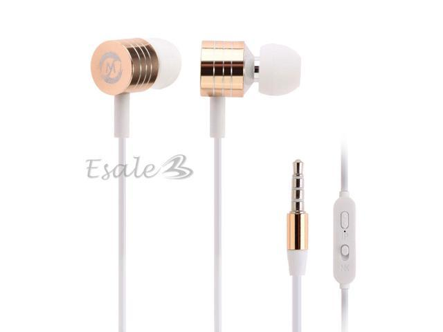 Mosidun M12 Luminous Wire 3.5mm Stereo Earphone Headphone with MIC High Quality