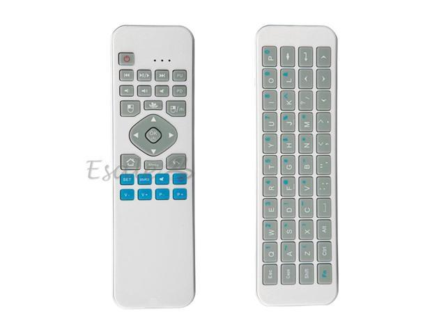 iPazzPort KP-810-30 RF 2.4GHz Wireless Mini Keyboard + Mouse with IR Learning