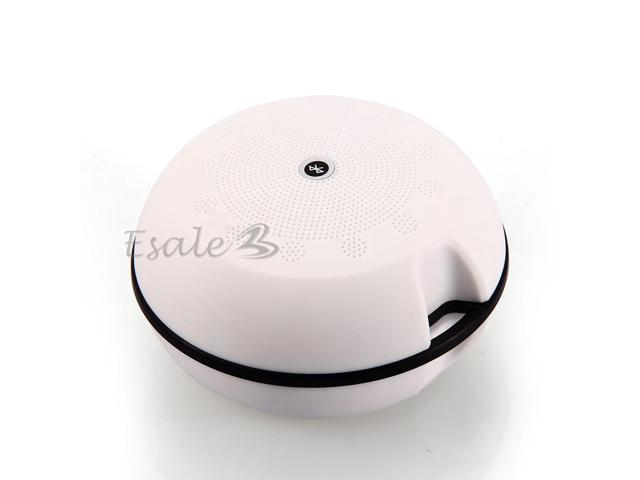 Mini Sports Wireless Bluetooth V3.0 Stereo Speaker Portable for Iphone PC White