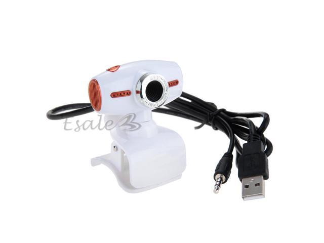 CMOS Sensor 8 Megapixel USB HD Webcam Camera 360° Rotatable for PC Laptop