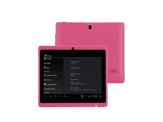 Moonar 7 inch Android 4.1 1.5GHz ARM Cortex-A8 WiFi Dual Cameras 4GB Tablet PC