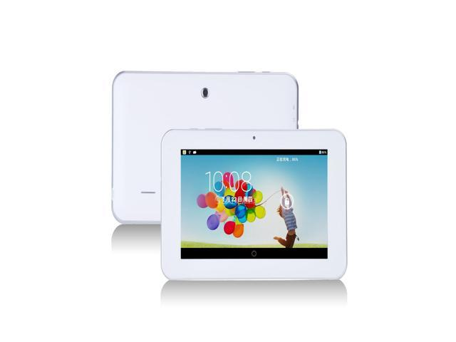 Sanei N77 7'' Inch Dual Core 1.5GHz 512MB/8GB Android 4.0 WIFI Tablet PC - White