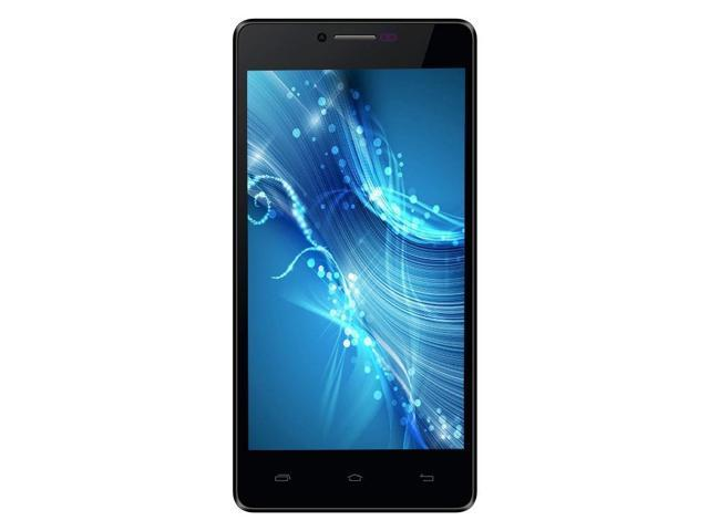 CUBOT S208 3G Phone MTK6582 Quad Core Android 4.2 1GB RAM 16GB ROM 5.0 Inch QHD IPS 8.0MP Camera Cell Phones - Black