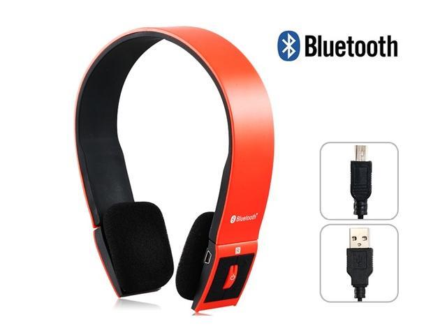 Bluetooth Headphone BH-504 Portable Bluetooth Stereo Headsets with Microphone Answer Calling for Android Smart Phones iPad Tablet PC