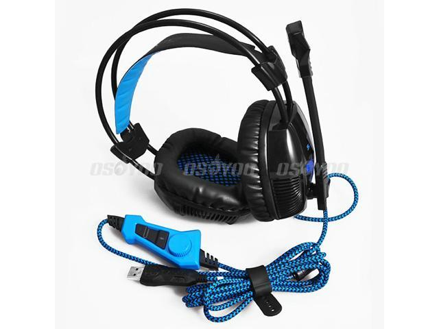 Original Sades A30 Game Earphone 7.1 Channel USB Professional Gaming Headset
