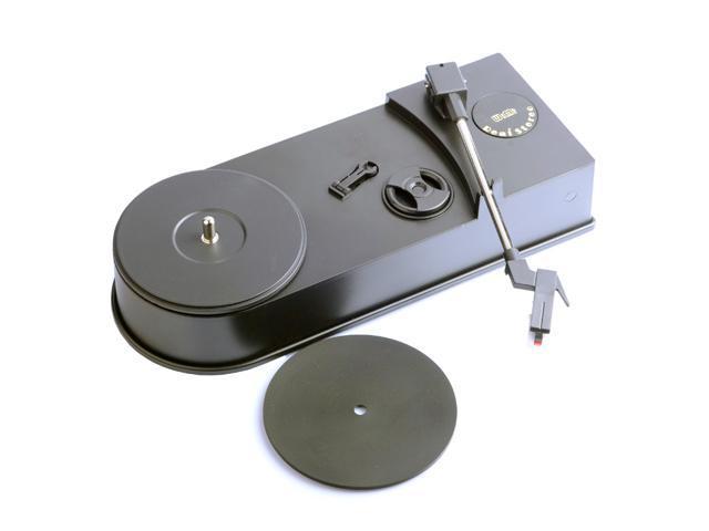 WIMI Portable Phonograph Turntable Vinyl LP to MP3 WAV Converter Player USB to PC Computer Recorder 33/45 RPM EC008B