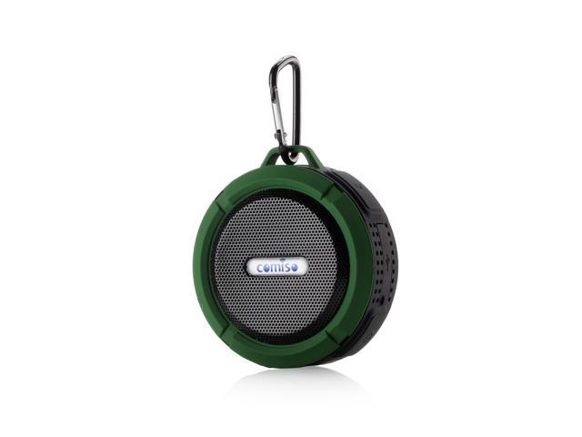 Mini Waterproof Shockproof Wireless Bluetooth Speaker For iPod iPhone 6 6Plus Samsung HTC Blackberry Smart Phone Call Green