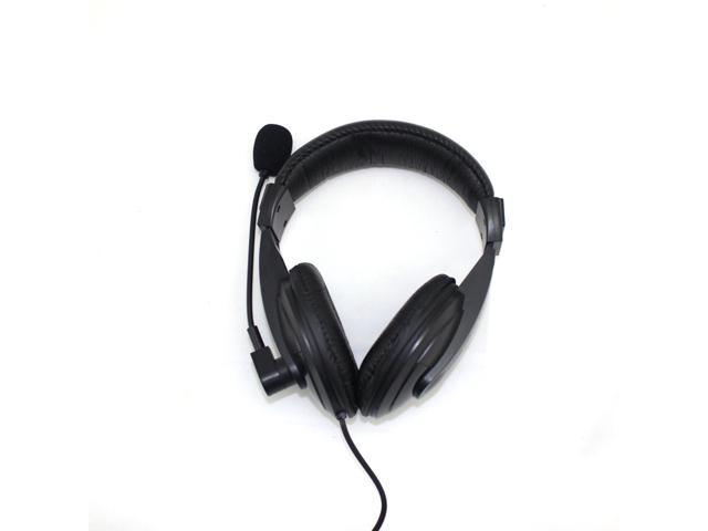 Soyana S-750 3.5mm Jack Adjust Over-Ear Earphone Headphone With Microphone for PC iPod iPhone