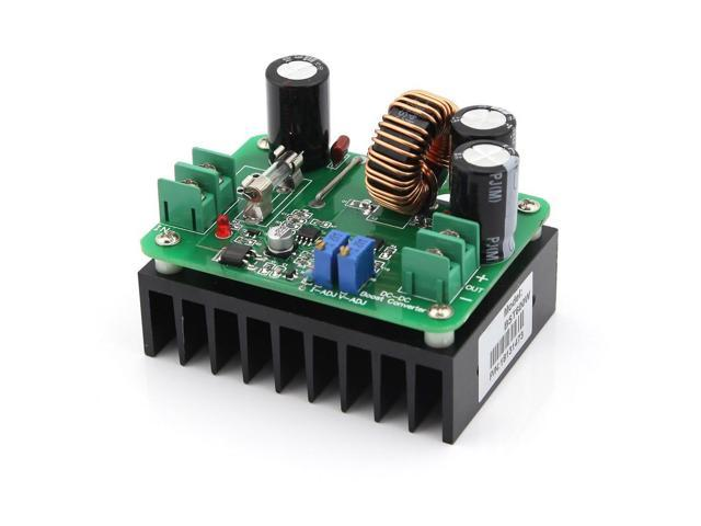 600W DC 10-60V to 12-80V Step-up Module Boost Laptop Power Supply