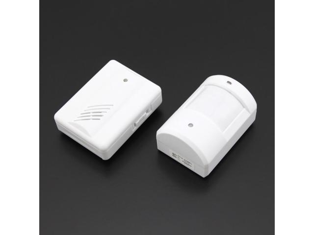 Novel Wireless Door Electro Guard Watch Remote Motion Sensor White