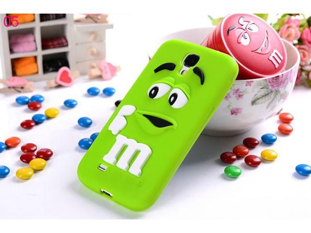 Yoursfs For Samsung S4 I9500 M Candy Man Cover Case Soft Silicone Cases SAMS4S023-5