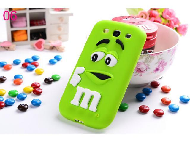 Yoursfs For Samsung S3 High Quality Candy M Man Design Cover Soft Silicone Cases SAMS3S009-6