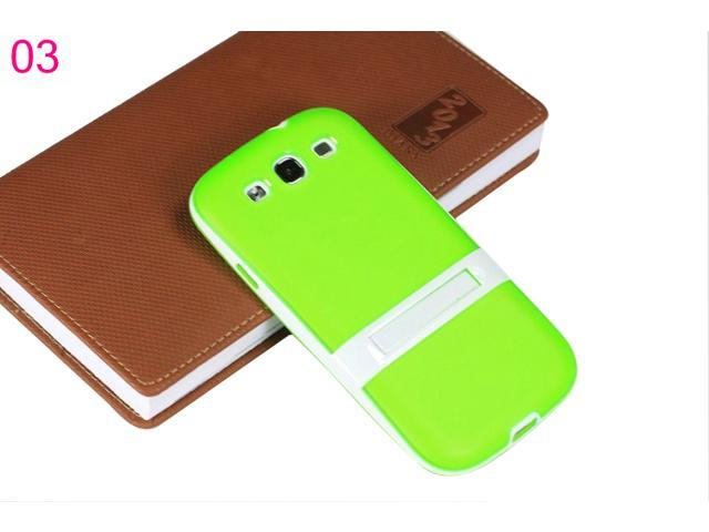 Yoursfs For Samsung S3 High Quality Color Standing Cover Soft Silicone Cases SAMS3S010-3