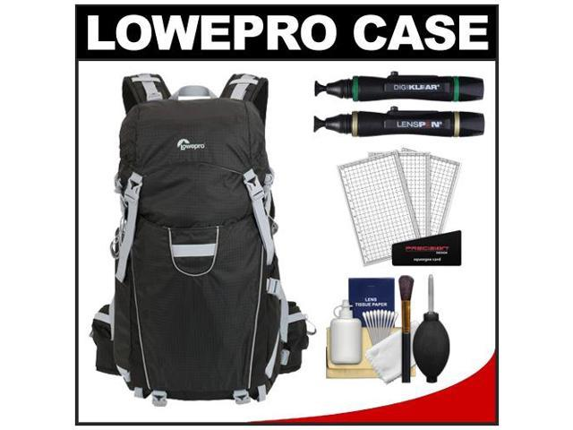 Lowepro Photo Sport 200 AW Digital SLR Camera Backpack Case (Black) with (2) Lenspens + Cleaning Kit + LCD Protectors + Accessory Kit