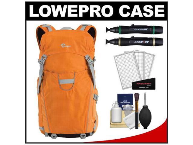 Lowepro Photo Sport 200 AW Digital SLR Camera Backpack Case (Orange) with (2) Lenspens + Cleaning Kit + LCD Protectors + Accessory Kit
