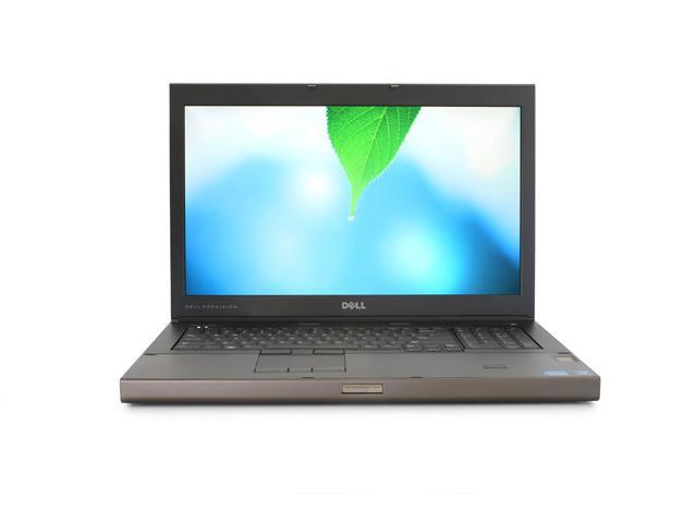 Dell Precision M6600 Laptop Computer - Intel Core i7 2620M 2.7Ghz, 2x500GB Hard Drives, 8GB DDR3, DVDRW, 17