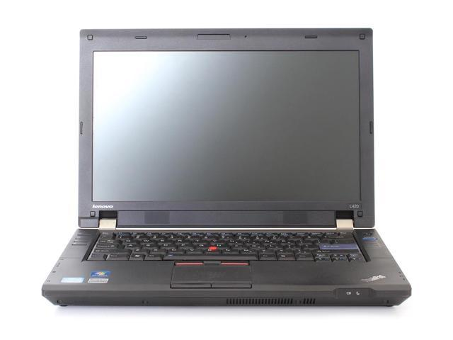 Lenovo L420 Notebook Computer, Intel Core i5 2520M 2.5Ghz, 4GB RAM, 160GB Hard Drive, DVDRW, Windows 7 Professional x64 - Grade B