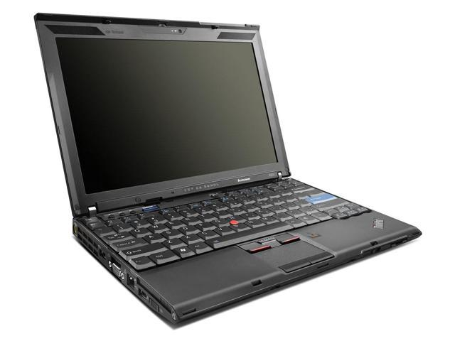 Lenovo ThinkPad X201 Notebook (R2/Ready for Reuse) with Intel Core i7 620M@2.67GHz, 4GB DDR3 RAM, 250GB HDD, docking station, and Windows 7 Pro ...