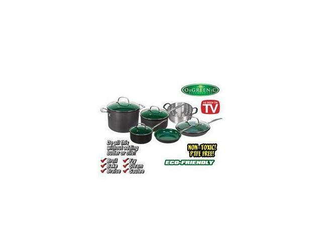 10-Piece Orgreenic Cookware Set