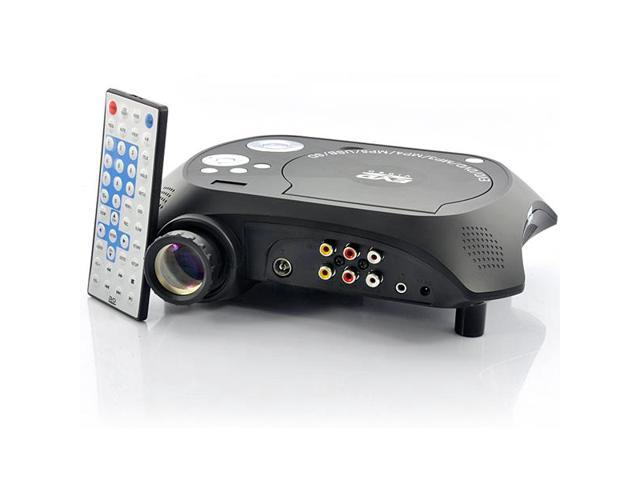 LED Multimedia Projector DVD Player
