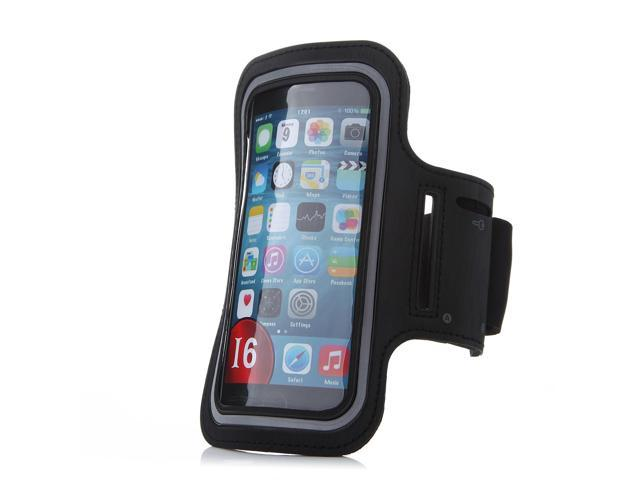 Armband Case Cover Holder for iPhone 6 Plus Black (10 pcs)