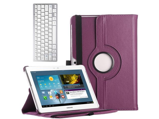 ULAK Galaxy Tab 2 10.1 Case Tablet 360 Rotating Case Cover for Samsung Galaxy Tab2 10.1