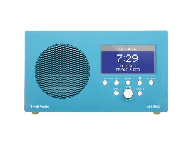 Tivoli Albergo Clock Radio with Bluetooth