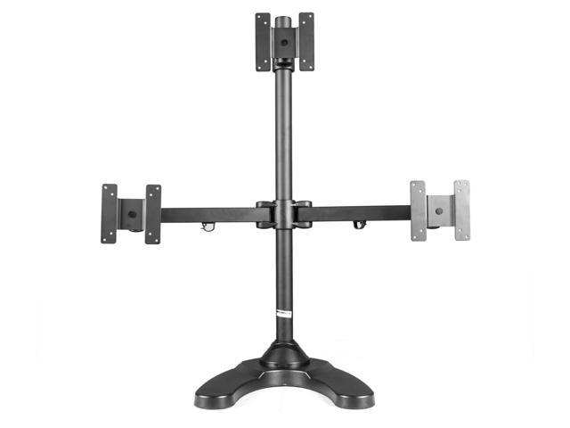 Monmount Articulating Triple LCD Freestanding Monitor Mount